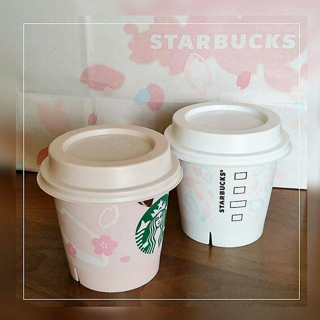 【miho_kimu】さんのInstagramをピンしています。 《今日のさくら❀.* スタバプリン 限定デザイン SAKURAカップ * ミルクカスタードプリンは白地のカップに淡いピンクと水色で桜の花びらが、チョコレートプリンは優しいピンク色のカップに桜の花が描かれています。 #スタバ #スターバックス #starbucks #スタバプリン #プリン #pudding #さくら #桜 #sakura #cherryblossoms #桜のショッパーもキュート  #袋の中にも桜の花びらが描かれています》