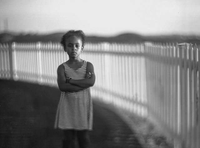 by Diyosa Carter.  full of demands and intensity  this one... always scheming. Fantastic large format (4x5) film photo using Graflex Speed Graphic and Kodak Aero Ektar lens