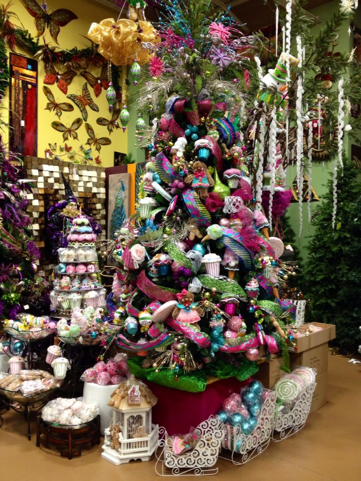 Cupcakes Christmas Tree designed by Arcadia Floral & Home Decor