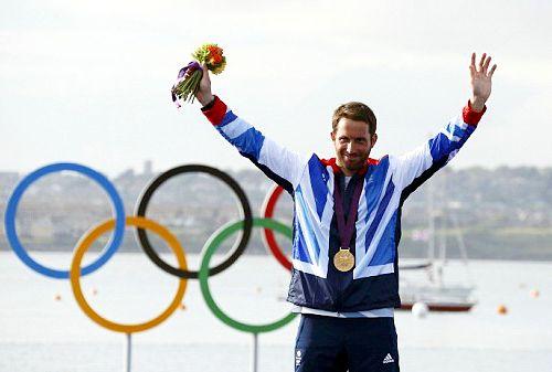 Team GB Medals 2012  41. Ben Ainslie - GOLD  (Sailing: Men's Finn)