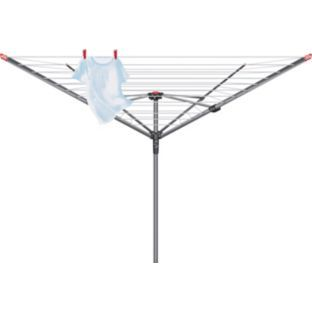 Buy Vileda 50m 4-Arm Ready to Use Outdoor Rotary Clothes Airer at Argos.co.uk - Your Online Shop for Washing lines and airers.