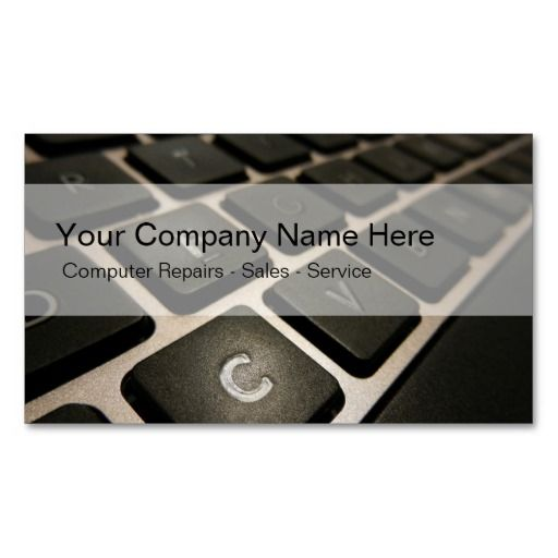 The 154 best computer repair business cards images on pinterest computers business cards wajeb Gallery