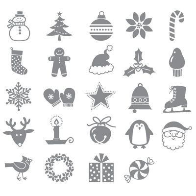 Jolly Bingo Bits - Clear-Mount Stamp Set - by Stampin' Up!Stamp Sets, Christmas Stamps, Bingo Bit, Stampin Up, Clear Mount Stamps, Stamps Sets, Holiday Stamps, Bit Stamps, Jolly Bingo