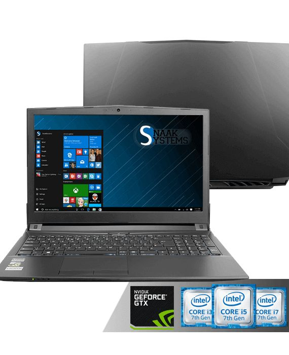 Privé: Clevo N850HC 15.6″ Full HD videobewerking laptop