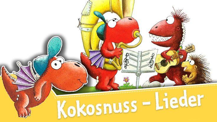 Der kleine Drache Kokosnuss – Kokosnuss Lied - Titellied - Lieder zum Mi...