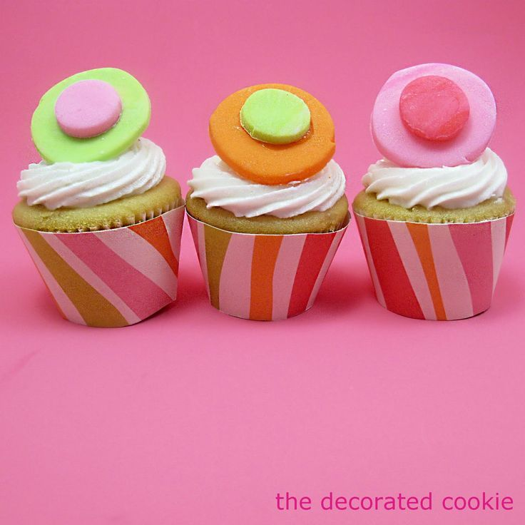 mini cupcake wrapper template. you're welcome. | The Decorated Cookie