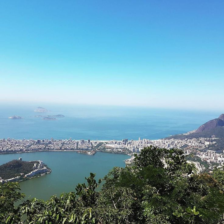 Amazing view of Rio from Cristo Redentor