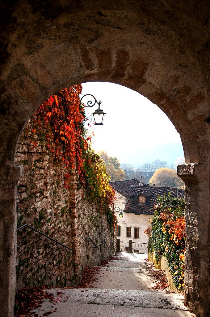 """Benvenuti in Italia!: Feltre, Veneto - """"Only the curious have something to find."""" ~~ unknown"""