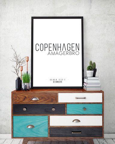 København plakat: amagerbro