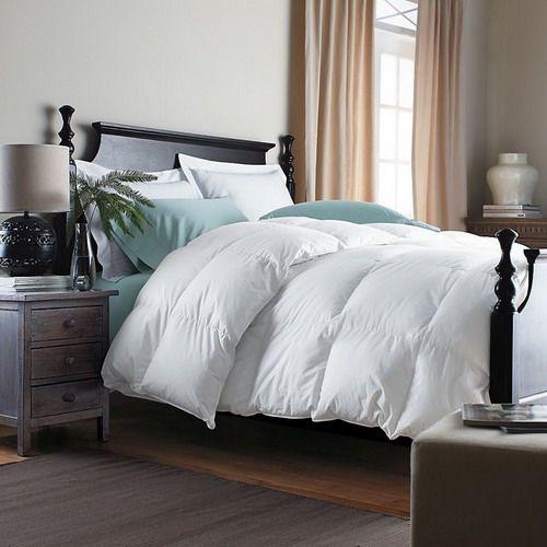 Alberta Baffled Goose Down Comforter traditional duvet inserts