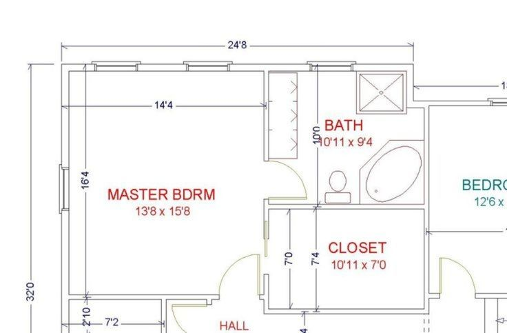 6 Free Tips Bedroom Remodel Kitchen Cabinets Bedroom Remodel Grey Gray Walls Small Master B Master Suite Floor Plan Master Bedroom Layout Master Bedroom Plans