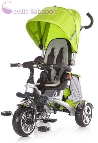 Chipolino Enduro tricikli dönthető háttámlával- Lime