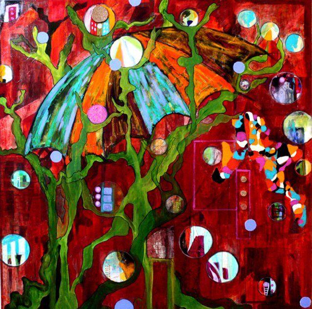 Véronique Doucet / La Boutique des arts CULTURAT #art #peinture #Abitibi #Rouyn