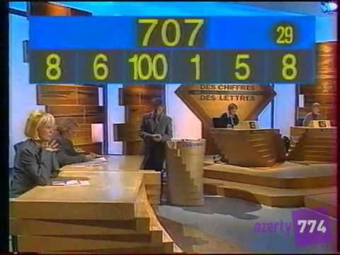 For once we learn all of our numbers and basic arithmetic operations! France 2 - Des chiffres et des lettres [Émission complète] - 08/01/1999