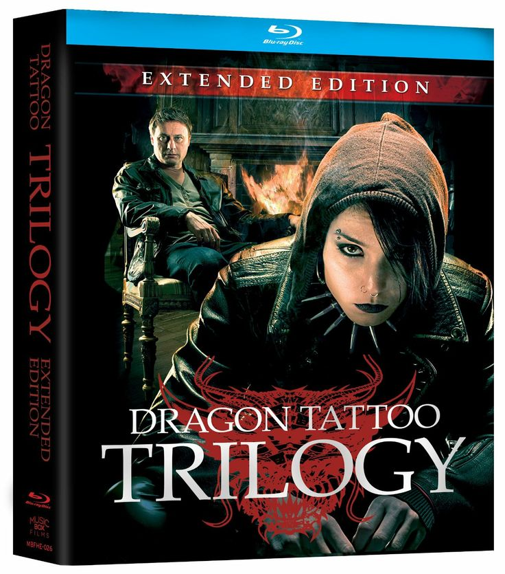 Amazon.com: Dragon Tattoo Trilogy: Extended Edition [Blu-ray]: Noomi Rapace, Michael Nyqvist, Lena Endre, Niels Arden Oplev, Daniel Alfredson: Movies & TV
