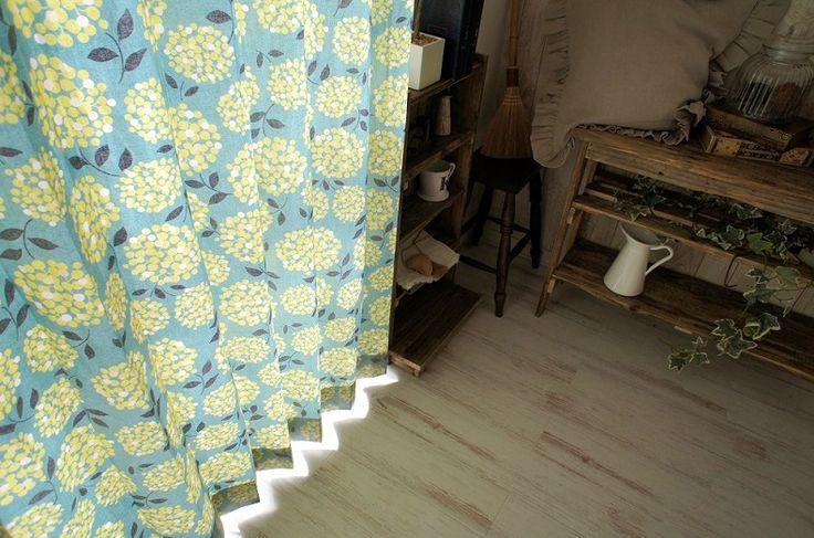 <北欧デザインフォレスト> 北欧デザインのおしゃれな非遮光カーテン