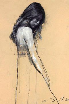エマ・ワトソンがモダンアートに!マーク・デンステッダーの絵画展が渋谷で開催 の写真2