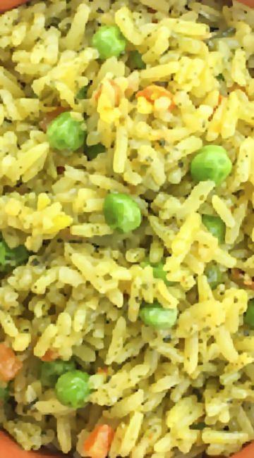 Fool-Proof Pressure Cooker Rice Pilaf