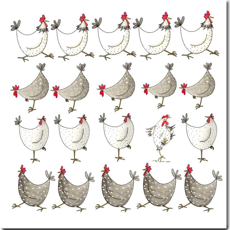 Shop for Multi Chickens Greeting Card from The Skinny Card Company. £2.25