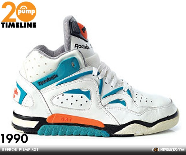 1st shoes I bought with my own money...Reebok Blacktop Hexalite Pump (this isn't the same color and style, but it's from approximately the same year)