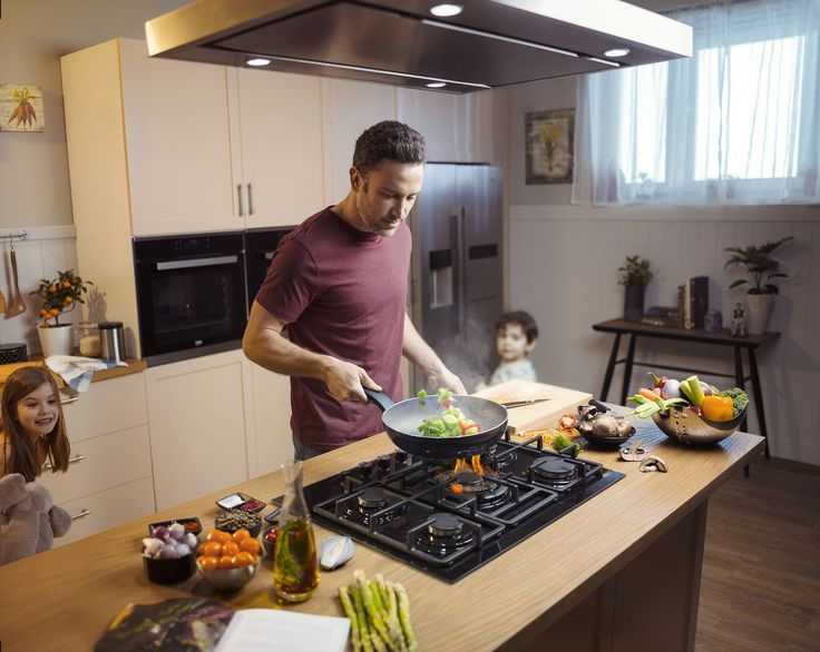 Nothing brings a family together like spending quality time in the kitchen and preparing a delicious meal  #FamilyTime