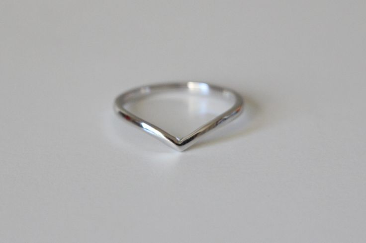 Sterling Silver Chevron Ring