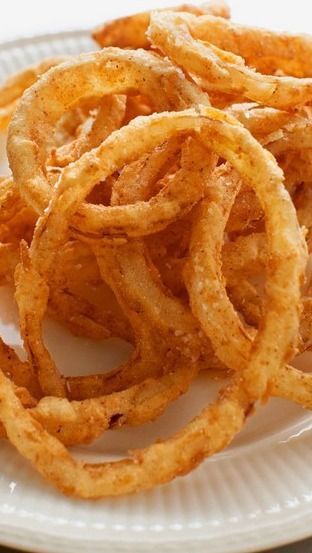 Southern fried onion rings