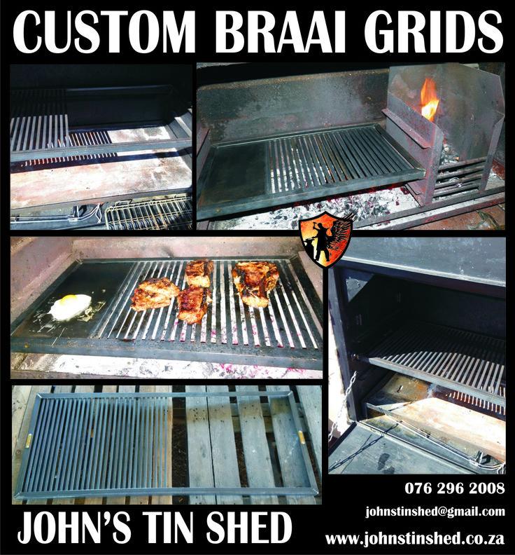Custom Braai Grids
