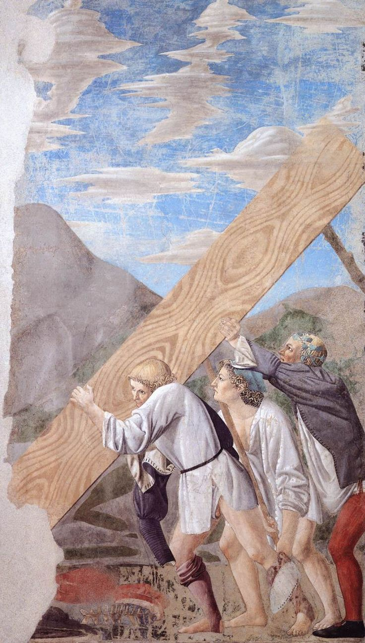 Burial of the Holy Wood - Piero della Francesca, 1464
