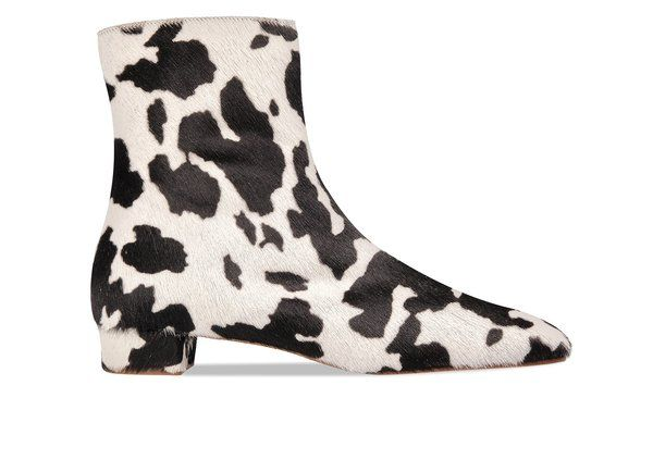 a6836a44137 BY FAR Este in 2019 | foot goodness | Pony hair, Cow print, Boots