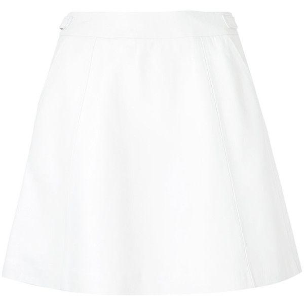 Loveless A-line mini skirt (1.935 RON) ❤ liked on Polyvore ...