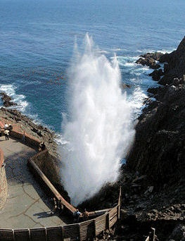 Blowhole, Ensenada, Mexico   Been here!!