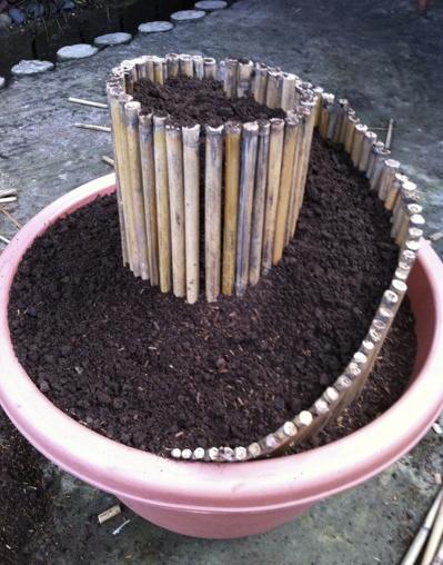 Spiral planter