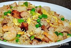 Yang Chow Fried Rice is a popular Oriental Rice Recipe. Watch our cooking demonstration to learn how to make this dish.