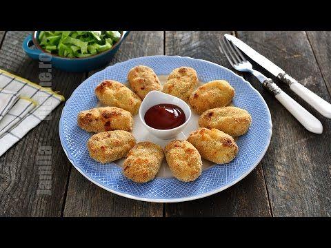Nuggets de pui la cuptor - reteta video   JamilaCuisine