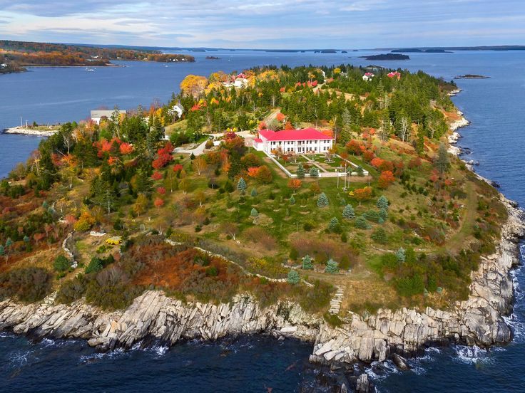 You can buy your very own private island in Maine for $8 million — here's what it's like - The INSIDER Summary:  Hope Island, a private island off the coast of Maine, is on the market for $8 million.  The main residence is 11,000 square feet and has two guest houses.  It also comes with barns, a chapel, a boathouse, a tavern, and apartments for staff.  If you've ever daydreamed about escapingto your own private island after a long week, now's the time to make it a reality. That is, if…