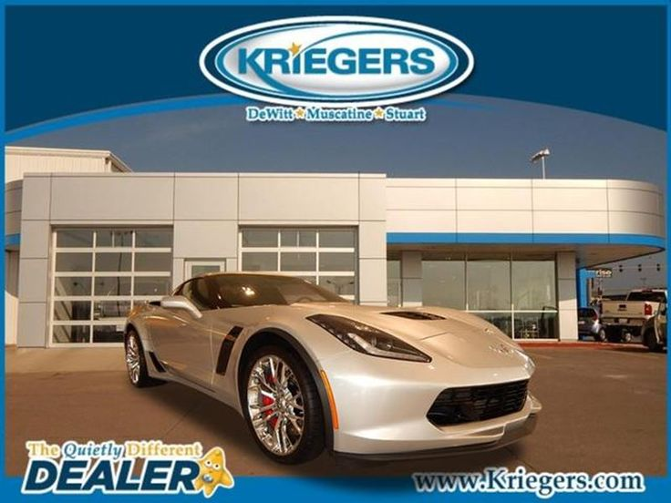 New 2015 Chevrolet Corvette Z06 for sale in DeWitt - Kriegers of DeWitt - DeWitt Iowa - 1G1YS2D64F5607174