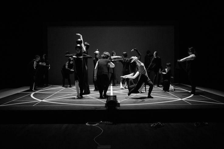 바우야놀자.PaTI.활자춤. plays.Bauhaus.