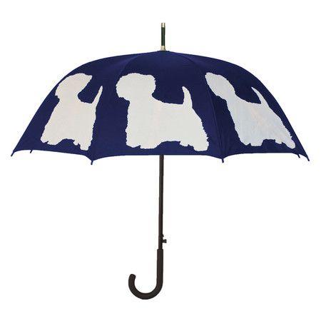 West Highland Terrier Umbrella.