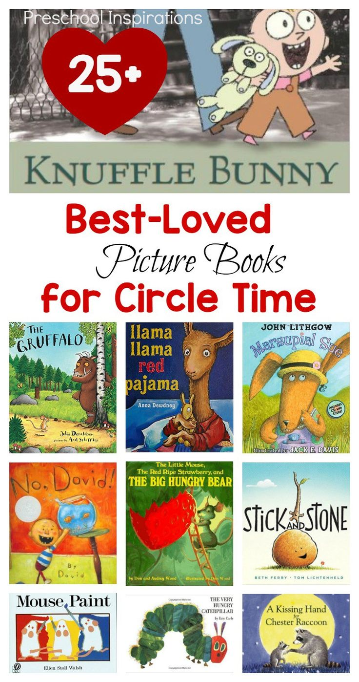 Need the perfect book for a read aloud? Here are 25+ of the most popular children's books that are best loved for circle time. Kindergartners, preschoolers, toddlers, and children of all ages love hearing these best loved picture books.