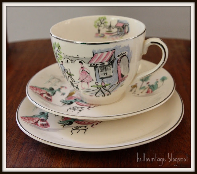 Alfred Meakin 1950 paris cafe. Vintage TeacupsVintage ChinaAlfred ... & 52 best Alfred Meakin images on Pinterest   Alfred meakin Dishes ...