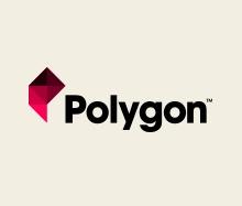 Polygon logo by Cory Schmitz