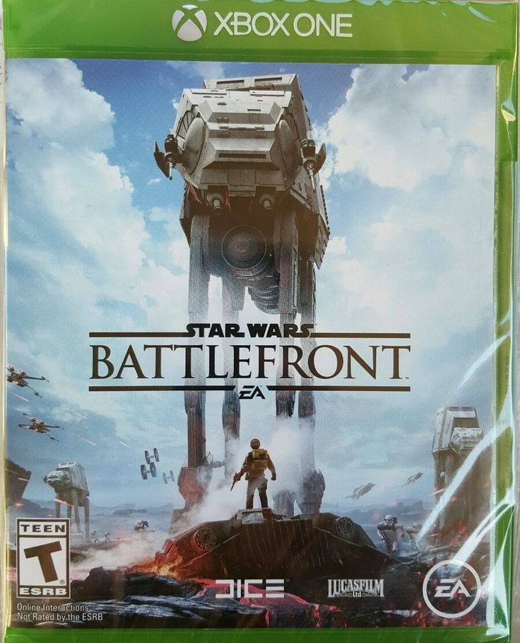 Star Wars Battlefront - Xbox One New Sealed #ElectronicArts