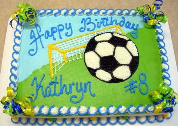 Cake Decorating Ideas For Soccer : 25+ Best Ideas about Soccer Birthday Cakes on Pinterest ...