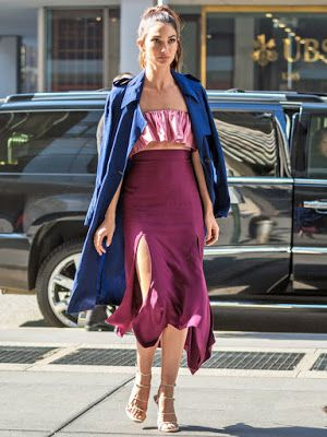 Fashion Beauty Express: リリー・オルドリッジ(Lily Aldridge)に学ぶシティファッション。
