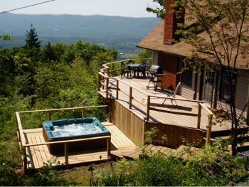 Mountain Cabin Rental in Rileyville, Virginia - Near Luray [holy SMOKEY mountains! this looks like fun!}