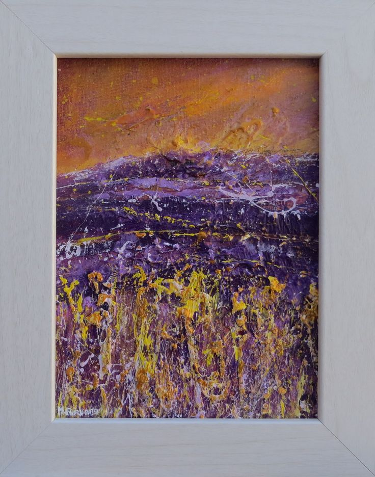 In Purple And Gold, April 2016 (framed)