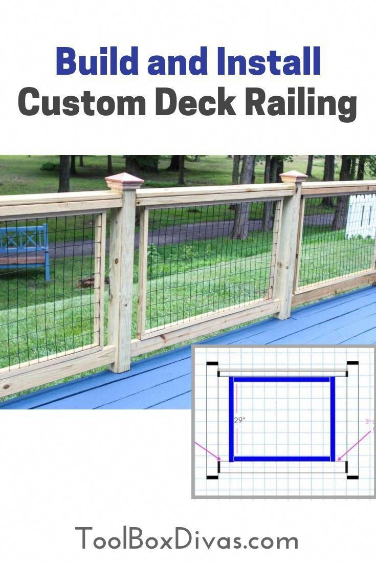 This Particular Deck Makeover Is Certainly An Interesting Style Concept Deckmakeover Custom Deck Railing Deck Installation Custom Decks