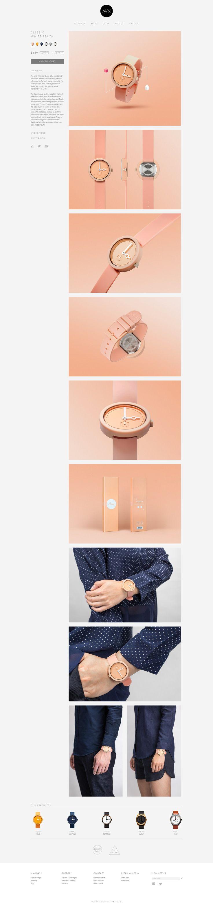 Aark. (More design inspiration at www.aldenchong.com) #webdesign