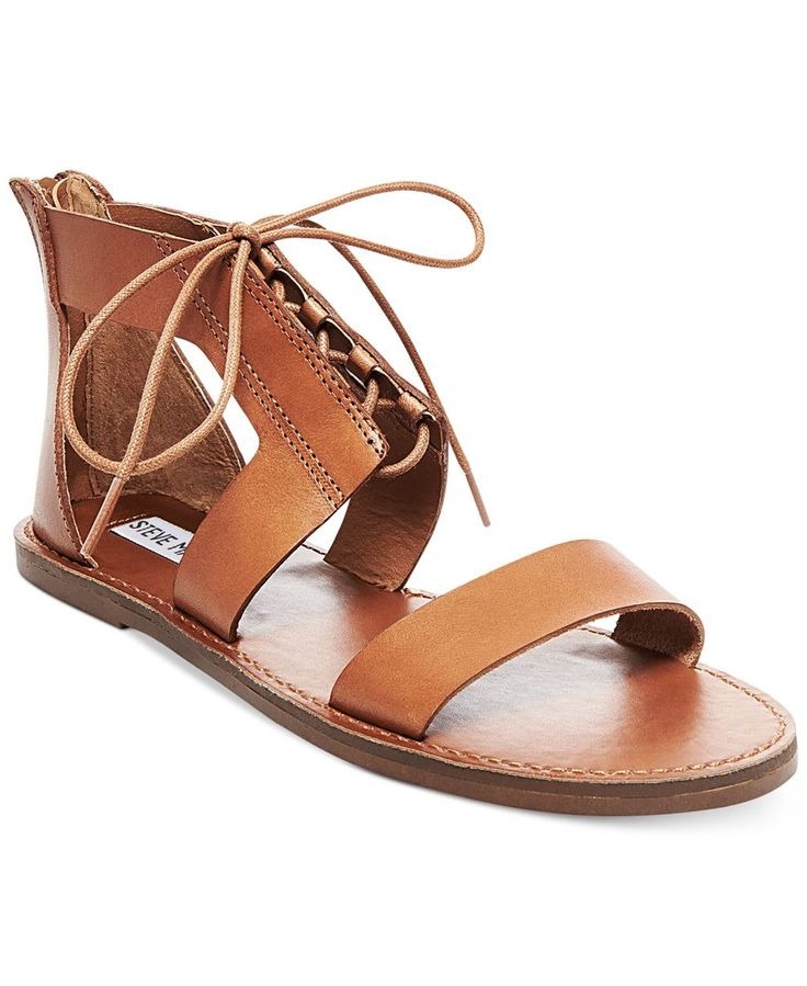 Steve Madden Women's Delgado Two-Piece Lace-Up Sandals